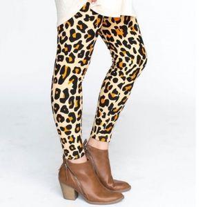 "Leggings ""Roar"" Animal Print Leopard Print NWT"
